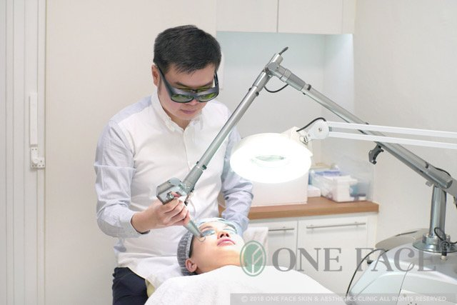 laser skin pigmentation procedure